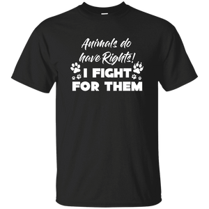 Animals Do have Rights - T Shirt Rescuers Club