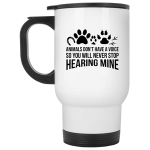 Animals Don't Have A Voice - Mugs Rescuers Club