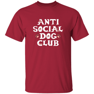 Anti Social Dog Club - T Shirt Rescuers Club