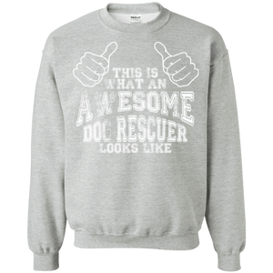 Awesome Dog Rescuer - Sweatshirt Rescuers Club