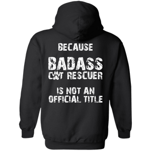 Bad*ss Cat Rescuer - Hoodie Rescuers Club