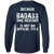 Load image into Gallery viewer, Bad*ss Dog Dad Rescuer - Long Sleeve T Shirt Rescuers Club