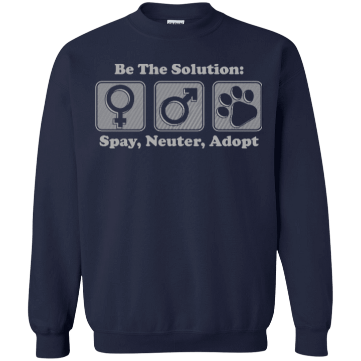 Be The Solution - Sweatshirt Rescuers Club