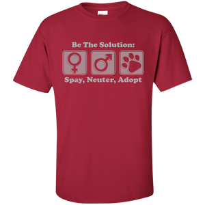 Be The Solution - T Shirt Rescuers Club