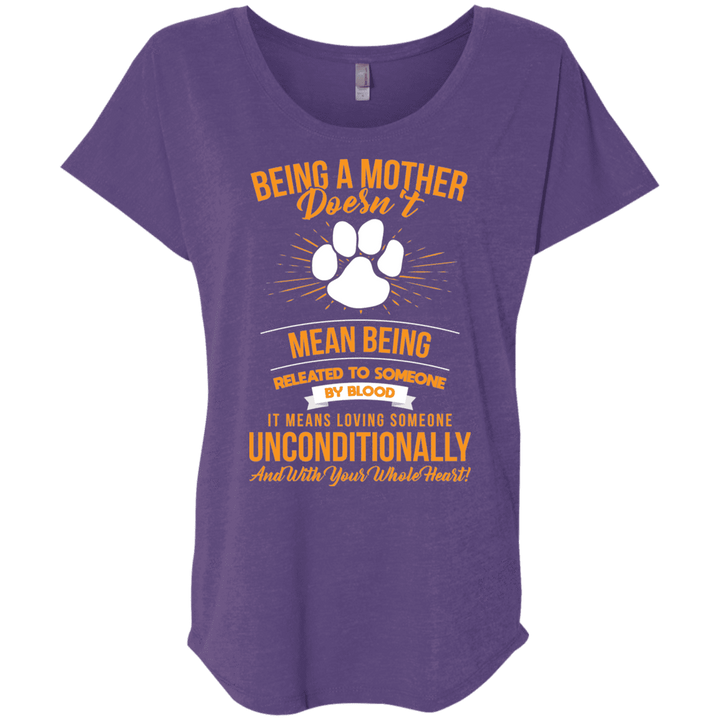 Being A Mother - Slouchy Tee Rescuers Club