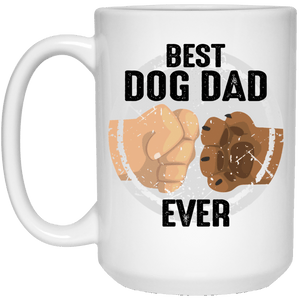 Best Dog Dad Ever - Mugs Rescuers Club