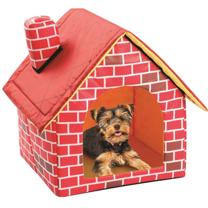 Brick Dog House Bed Rescuers Club