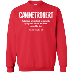 Caninetrovert - Sweatshirt Rescuers Club