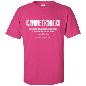Caninetrovert - T Shirt Rescuers Club