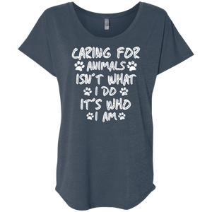 Caring For Animals - Slouchy Tee Rescuers Club