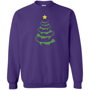 Cat Christmas Tree - Sweatshirt Rescuers Club