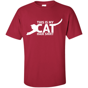 Cat Hair Shirt - T Shirt Rescuers Club
