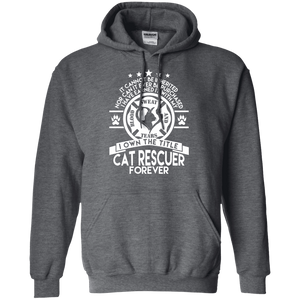 Cat Rescuer Forever - Hoodie Rescuers Club