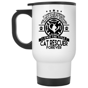 Cat Rescuer Forever - Mugs Rescuers Club