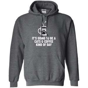 Cats And Coffee - Hoodie Rescuers Club