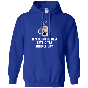 Cats And Tea - Hoodie Rescuers Club