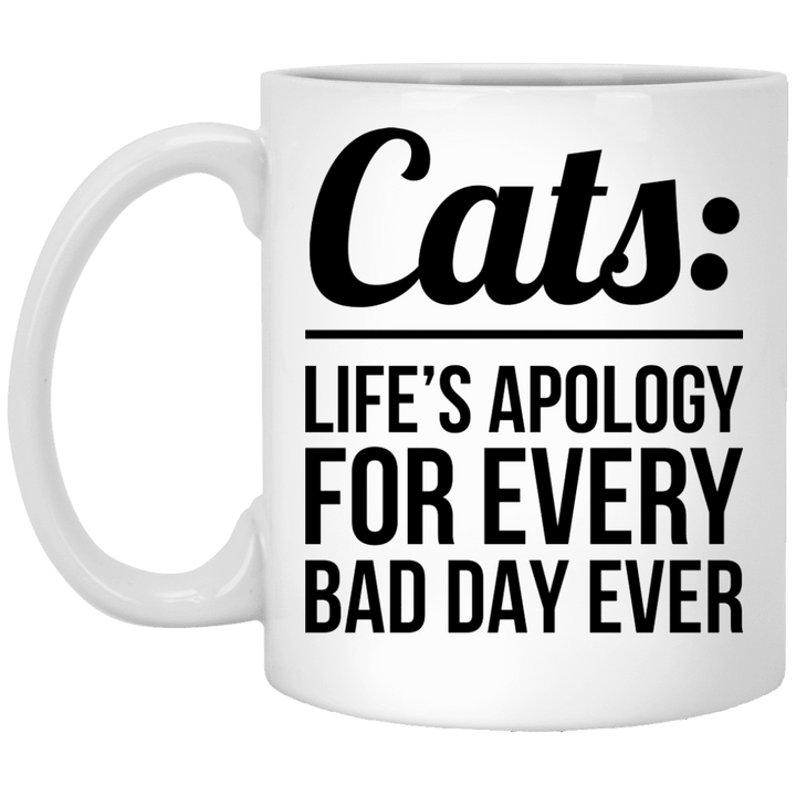 Cats Life's Apology - Mugs Rescuers Club
