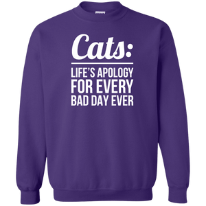 Cats Life's Apology - Sweatshirt Rescuers Club