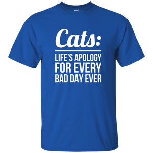 Cats Life's Apology - T Shirt Rescuers Club