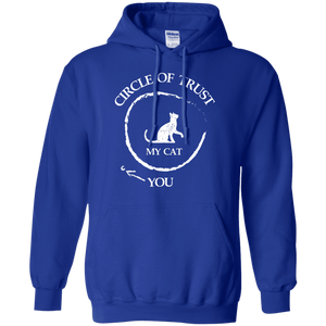 Circle Of Trust My Cat - Hoodie Rescuers Club
