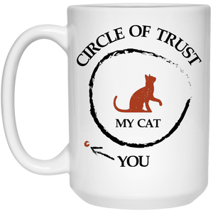 Circle Of Trust My Cat - Mugs Rescuers Club