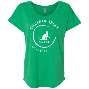 Circle Of Trust My Cat - Slouchy Tee Rescuers Club