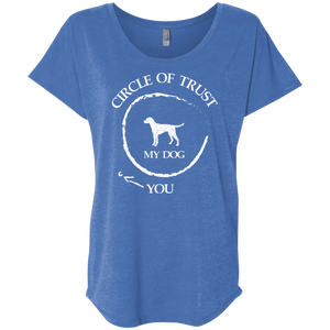 Circle Of Trust My Dog - Slouchy Tee Rescuers Club
