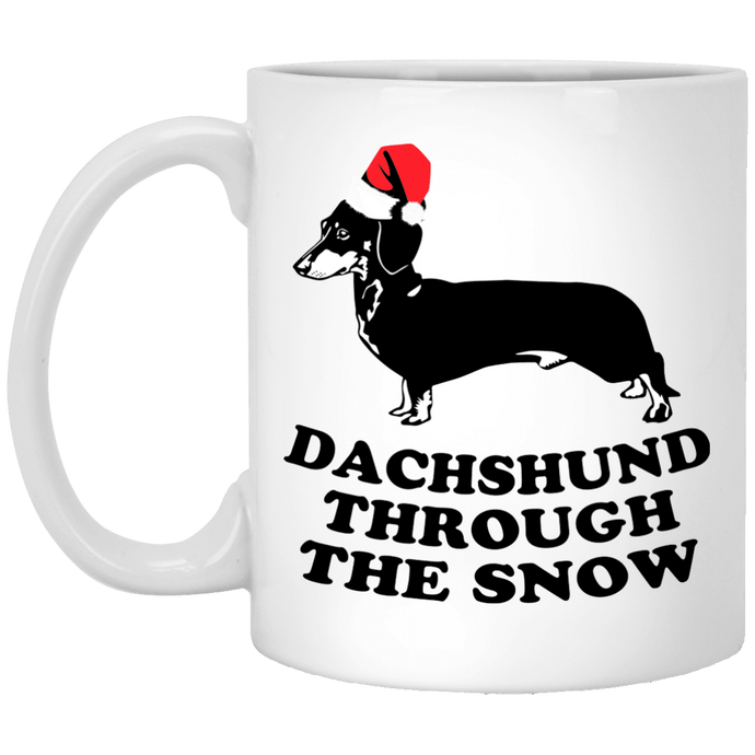 Dachshund Through The Snow - Mugs Rescuers Club