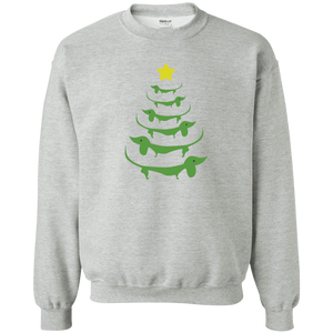 Dog Christmas Tree - Sweatshirt Rescuers Club