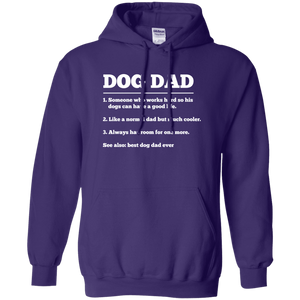 Dog Dad Definition - Hoodie Rescuers Club