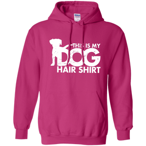 Dog Hair Shirt - Hoodie Rescuers Club