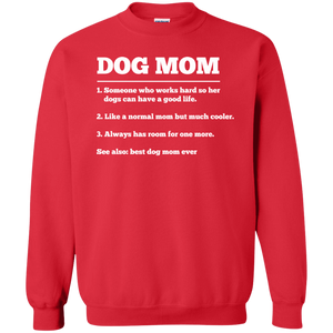 Dog Mom Definition - Sweatshirt Rescuers Club