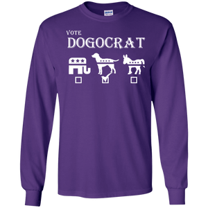 Dogocrat - Long Sleeve T Shirt Rescuers Club