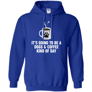 Dogs And Coffee - Hoodie Rescuers Club