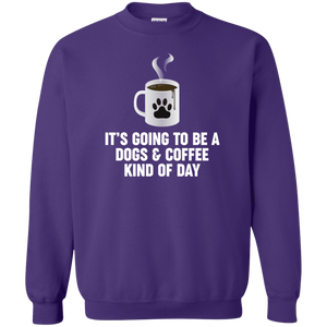 Dogs And Coffee - Sweatshirt Rescuers Club