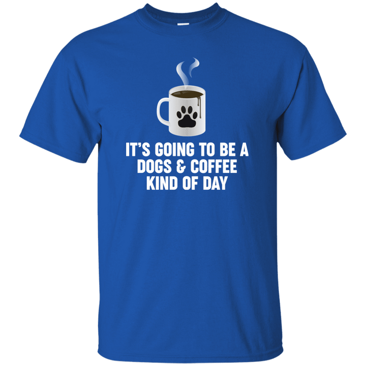 Dogs And Coffee - T Shirt Rescuers Club