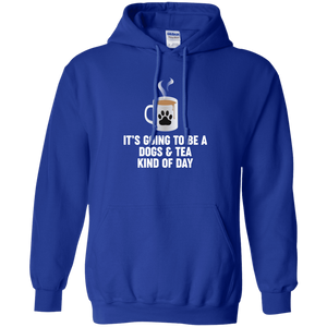 Dogs And Tea - Hoodie Rescuers Club