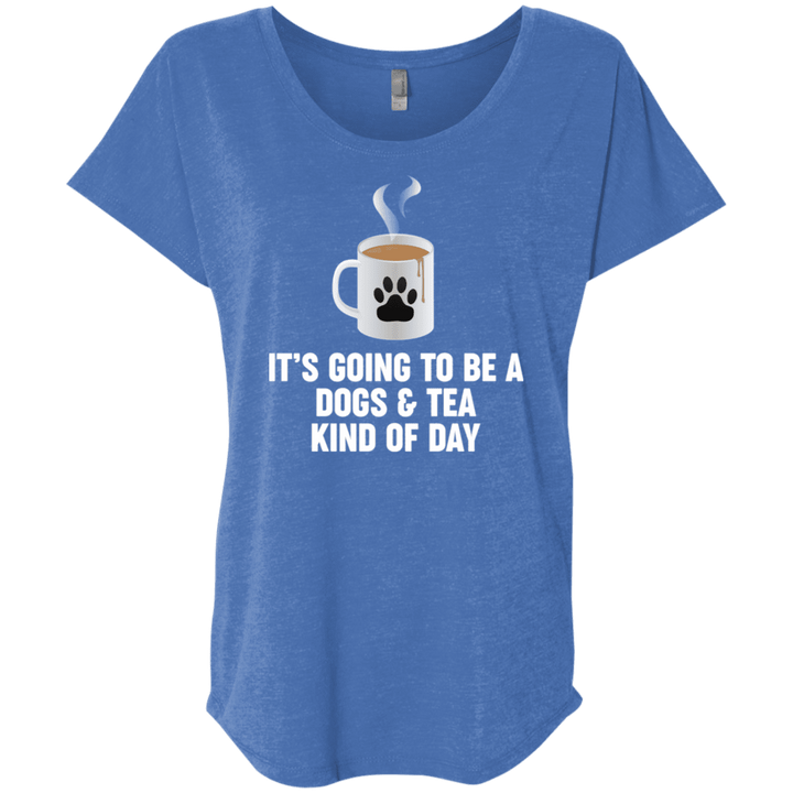 Dogs And Tea - Slouchy Tee Rescuers Club