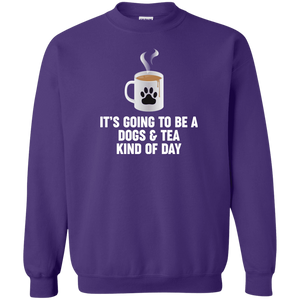 Dogs And Tea - Sweatshirt Rescuers Club