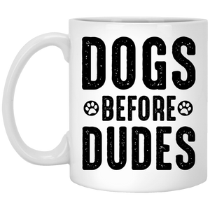 Dogs Before Dudes - Mugs Rescuers Club