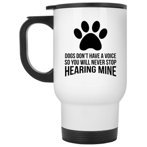 Dogs Don't Have a Voice - Mugs Rescuers Club