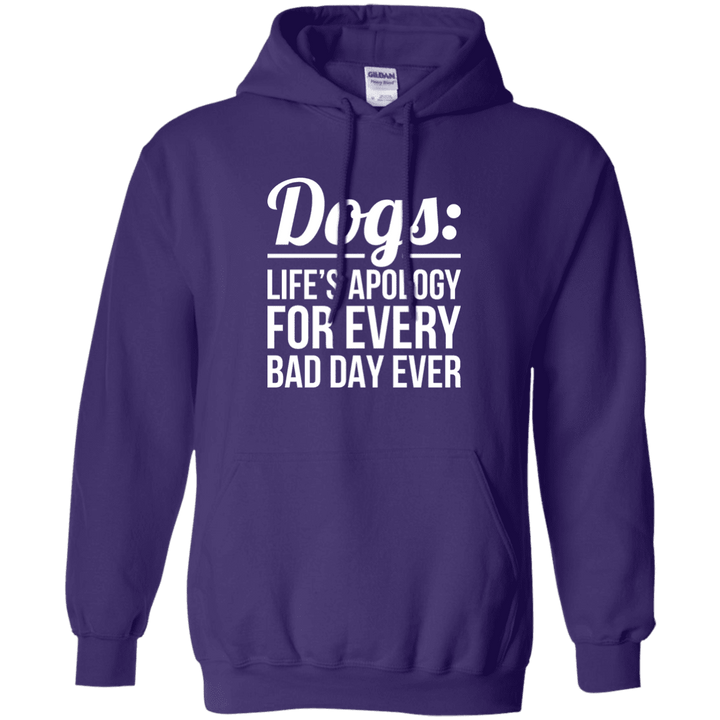 Dogs Life's Apology - Hoodie Rescuers Club