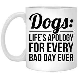 Dogs Life's Apology - Mugs Rescuers Club