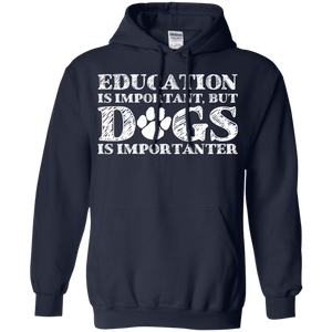 Education Is Important - Hoodie Rescuers Club