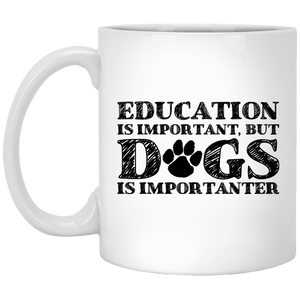 Education Is Important - Mugs Rescuers Club