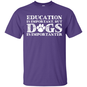 Education Is Important - T Shirt Rescuers Club