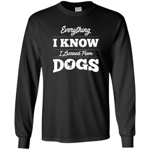 Everything I Know - Long Sleeve T Shirt Rescuers Club