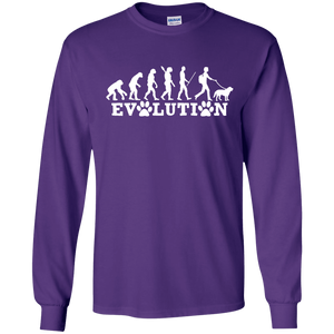 Evolution - Long Sleeve T Shirt Rescuers Club