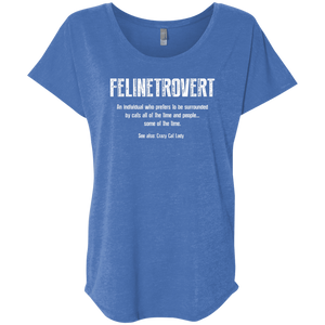 Felinetrovert - Slouchy Tee Rescuers Club