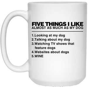 Five Things I Like - Mugs Rescuers Club